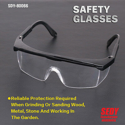 Safety Goggles Eye Protection Anti-Scratch Lightweight Clear Protective Glasses