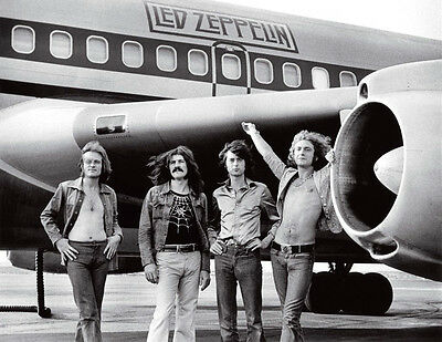 """LED ZEPPELIN """"AIRPLANE"""" Fabric Poster Oversized 30"""" X 40"""" Poster NEW"""