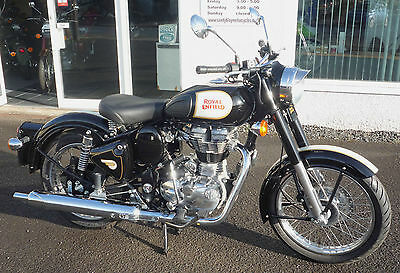 Royal Enfield Classic Motorcycle Black (New & Unregistered)