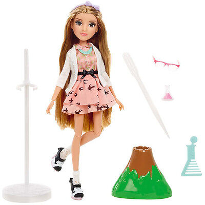 Zapf Creation Project Mc² Puppe mit Experiment Adriennes Vulkan