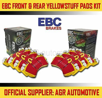 Ebc Yellowstuff Front + Rear Pads Kit For Mercedes-Benz W108 280 Sel 3.5 1971-72