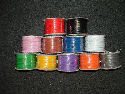 Mixed Pack Equipment Wire 16 16/0.2mm Strand Electronic Electric  - CUT LENGTH