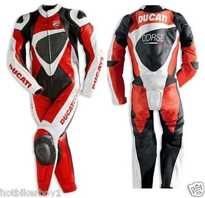 1 & 2 piece New 2015 Racing Motorbike Leather Suit with CE Approved Protector