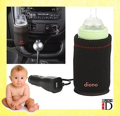 Diono Warm and Go Baby Travel Portable Car Baby Milk Bottle Warmer Heater Holder