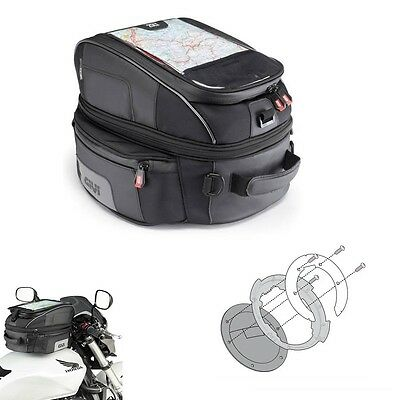 TANK BAG TANKLOCK X 25LT.GIVI XS306 + BF13 FLANGE BMW R1200 GS Adventure 2012