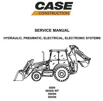 case 580 super k loader backhoe service manual repair guide workshop rh picclick com case 580 backhoe owners manual case 580 super k backhoe service manual
