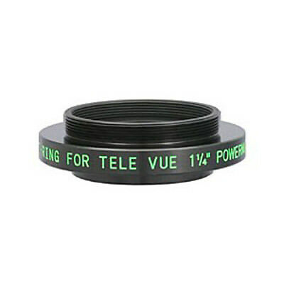 """Tele Vue 1.25"""" T-Ring Adapter for 2.5x and 5x Powermate # PTR-1250"""