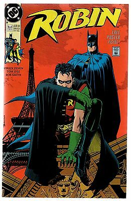 Robin #1 2 3 4 5 Jan 1991 DC Comic Book Batman Dixon Lyle Smith With Poster