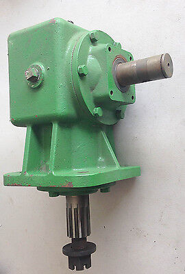 65hp Gearbox Upgrade for 40hp Rotary Cutters, 1:1.92 Shear Bolt, 12 Spline O/P