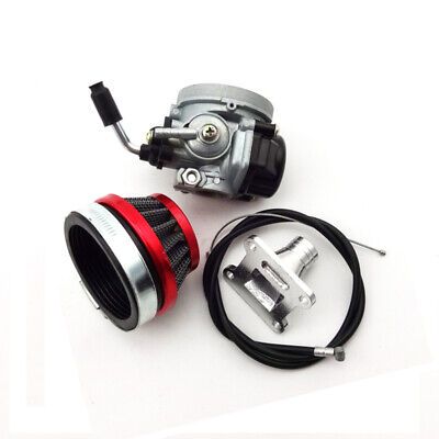 Racing Carb Carburetor Air Filter For 47cc 49cc Pocket Bike Mini Moto ATV Quad