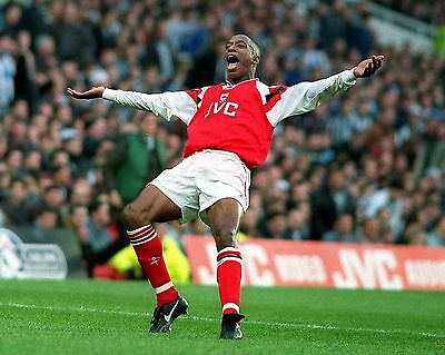 Ian Wright 06 Arsenal (Football) Photo Print