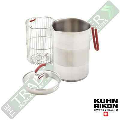 Kuhn Rikon Stainless Steel 2.5L Multi Pot with Basket & Lid
