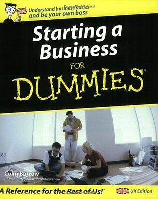 Starting a Business For Dummies By Colin Barrow. 9780764570186