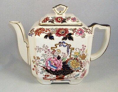 Masons BROCADE Teapot with Lid GREAT CONDITION
