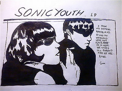 Sonic Youth Goo Cover 8X11 Photo Poster Album Art Picture Decor Print 006