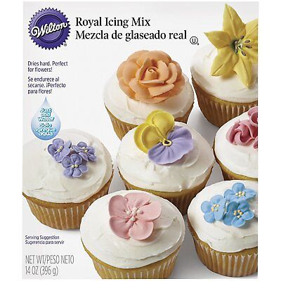 Wilton Royal Decorative Cupcake/Cake Icing Mix 397 g Perfect For Flowers