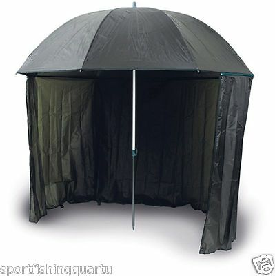 Umbrella Trabucco Half Tent Pu 250Cm Surfcasting Carpfishing Colore Verde