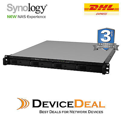 Synology Rackstation RS815+ Series NAS - 4 Bays - Quad Core 2.