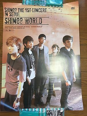 SHINee World The 1st concert in Seoul Official Promo Poster Not For SALE Korea