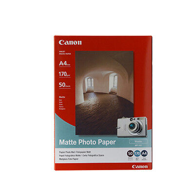 Brand New Canon Matte Photo Paper A4 50 Sheets 170gsm