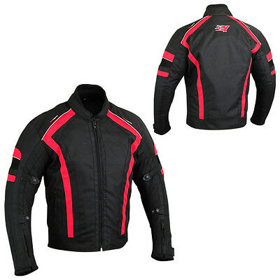 Cordura Motorcycle Jacket With Air Vents And Armour
