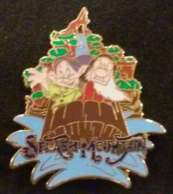 2007 Magic Kingdom Splash Dopey And Grumpy Wdw Mystery Attraction Disney Pin