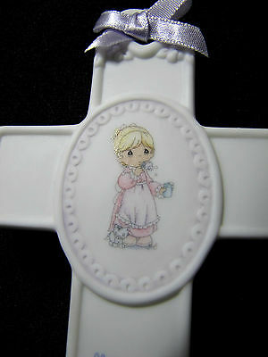 2003 Precious Moments Cross Memories are Made of This New Baby Baptism Communion