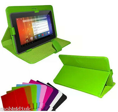 """Universal Leather Stand Case Cover Acer iConia One 7 B1-770 7"""" inch Tablet"""