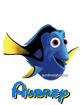 New Finding Nemo Dory Personalized Party Favor T Shirt Birthday Gift Present