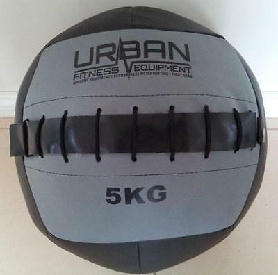 Brand New 5kg soft medicine ball - Urban Fitness - Brand New - Black and Grey