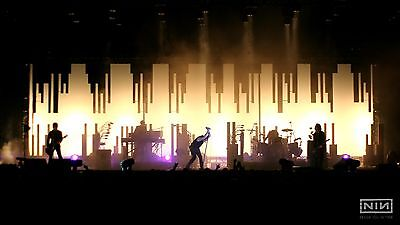 Nine Inch Nails Nin 8X11 Photo Poster Live Concert Art Picture Decor Print 004