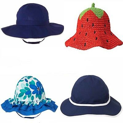 9d2d185a GYMBOREE BABY TODDLER Girl Sun Hat 6 12 18 24 2T 3T 4T 5T NWT Retail ...
