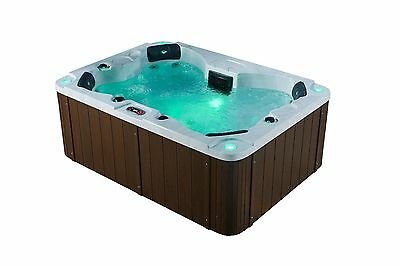 4 person Acrylic Hot Tub Plug & Play Led lights, Cover, and Free delivery