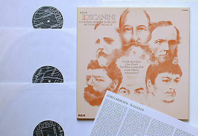 FRENCH MUSIC TURN OF THE CENTURY/TOSANINI 3 LP RCA VL 42950 Debussy/Ravel/Bizet