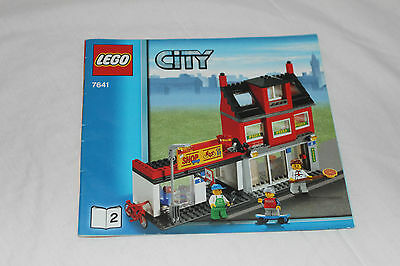 LEGO CITY 7641 CITY CORNER Booklet 2 INSTRUCTION Book ONLY NO BRICKS