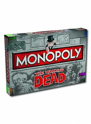 The Walking Dead TV Series Monopoly Board Game Family Fun Brand New Gift