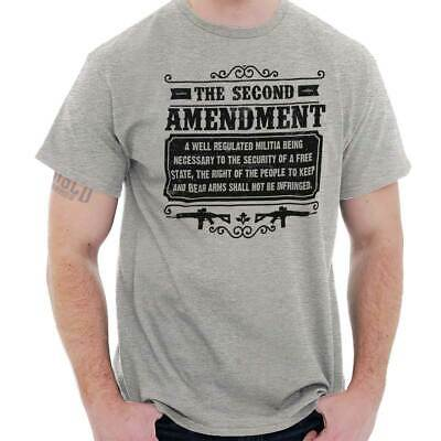 2nd Amendment USA Shirt Gun Control Rifle Rights America Cool T Shirt