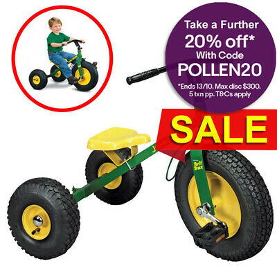 John Deere Ride On Pedal Mighty Trike Tractor Kids Children Toy Tricycle