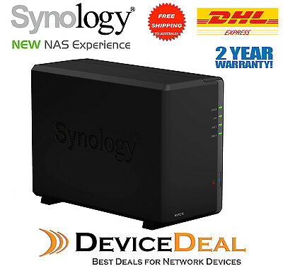 Synology NVR216 4 Channel 2 Bay Network Video Recorder Can upgrade to 9 channel