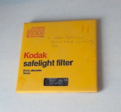 Kodak Safelight Filter 5/12 Diameter 14cm/Amber/ for Darkroom