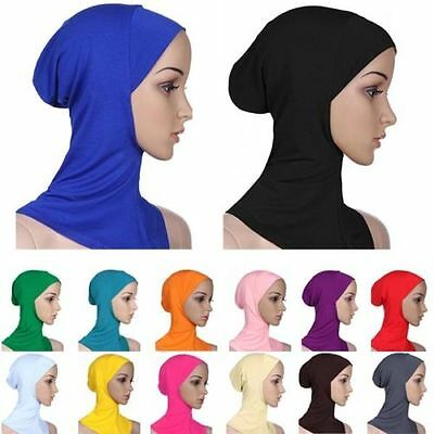 2016 Hot Cotton Muslim Inner Hijab Caps Islamic Underscarf Hats Ninja Hijab