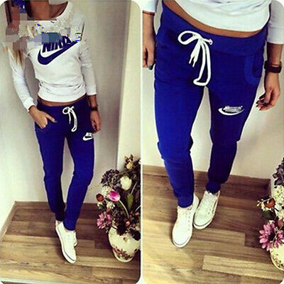 Women's Thick Athletic Tracksuit Sweat Suit Running Fitness Casual Sportwear