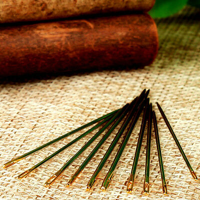 10Pcs Leather Canvas Sewing Stitching Needles Leathercraft Handmade Repair Tools