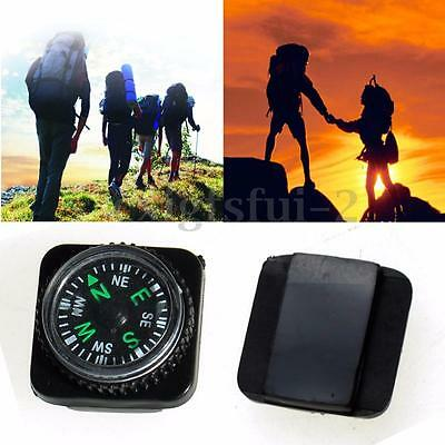 10 Compass for Paracord Bracelet Outdoor Camping Hiking Emergency Survival Tool