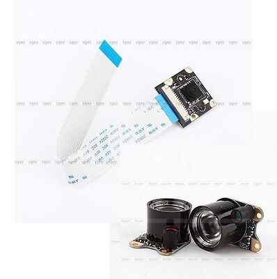 Full HD 1080P For Raspberry Pi Model B/B+ Camera Module Night + 2 IR LED Light