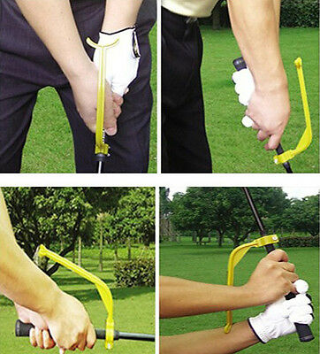 Golf Swing Aid/Trainer Practice Guide Beginner Gesture Alignment Tool Training