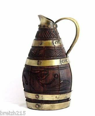 Antique French Wine or Cider  Pitcher Jug Decanter French