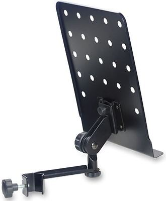 Stagg Small Music Stand Plate With Arm Spare Holder For Music Stands Clamp On
