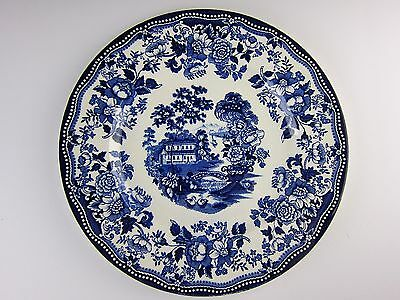 Royal Staffordshire China TONQUIN - Blue Dinner Plate(s) EXCELLENT