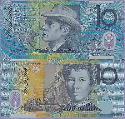 Australia 10 Dollars Polymer Banknote 2005 Uncirculated Condition Cat#58-6912